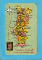 """COMPANHIA De SEGUROS """" PORTUGAL """" - 1952 Pocket Calendar - Calendriers"""