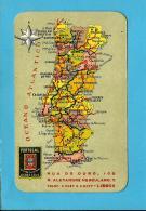 """COMPANHIA De SEGUROS """" PORTUGAL """" - 1953 Pocket Calendar - Calendriers"""