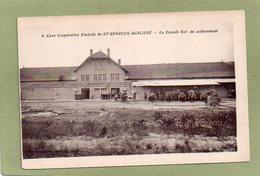 ST GENGOUX DE SCISSE  CAVE COOPERATIVE  FACADE EST - Sonstige Gemeinden