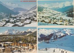 17 / 3 / 465  -  4 CPM  ( Grd. Mod. )  -VUES  DE  MONTAGNE  ENNEIGÉES ( Bernard GRANGE ) - Autres Illustrateurs