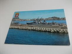 Nave Ship GUERRA CARTAGENA MURCIA VISTA PARZIALE PORTO - Guerra