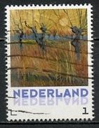 Pays Bas - Netherlands - Niederlande 2015 Y&T N°(2) - Michel N°(2) (o) - 1€ œuvre De Van Gogh - Periodo 1980 - ... (Beatrix)