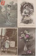 17 / 3 / 466  -   LOT  DE  12  CP  FANTAISIES  DIVERSES  - Toutes Scanées - Postcards