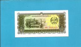 LAOS - 10 KIP - ND ( 1979 ) - Pick 27 - UNC. - Serie  DA - BANK OF THE LAO PDR - 2 Scans - Laos