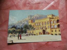 Monaco Illustrateur Robaudy Palais Prince - Monaco