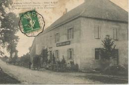 Les Ages De LORAY (Doubs) - Hôtel BAHY - Pension Pour Villégiature - Cure D'Air - Se Recommande à M.M. Les Touristes