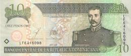 DOMINICAINE   10 Pesos Oro   2003   P. 168c   UNC - Dominicaine