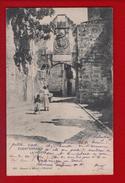 1 Cpa Carte Postale Ancienne - ESPAGNE . FUENTERRABIA . LA PUERTA - Guipúzcoa (San Sebastián)