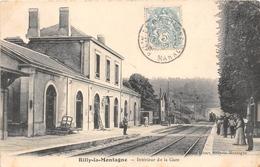 51-RILLY-LA-MONTAGNE- INTERIEUR DE LA GARE - Rilly-la-Montagne