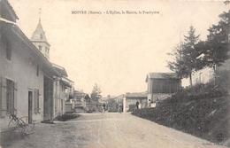 51-MOIVRE- L'EGLISE, LA MAIRIE, LE PRESBYTERE - Other Municipalities