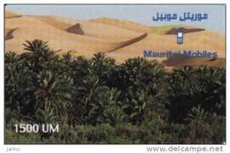 Mauritanie, 1500 Units, Recharge Card - Mauritania