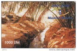 Mauritanie, 1000 Units, Recharge Card - Mauritania