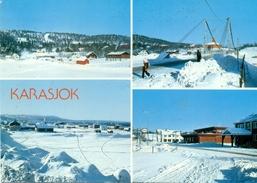 Norvège - 1990 - KarasJok - M - 9267-9 - Enerett Aune - Ecrite, Timbrée Et Circulée - - Norwegen
