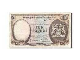 Scotland, 10 Pounds, 1982-1986, KM:343a, 1985-01-03, TTB - [ 3] Scotland