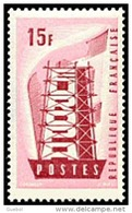 France N° 1076 ** Europa / CEPT 1956 Construction Des 6 - France