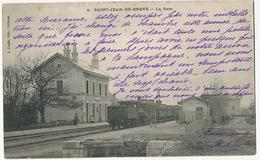 4 St Jean De Braye La Gare Edit J. Loddé Orleans Train - Francia