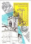 España 1998 Lazarillo Tormes Sociedad Filatélica Palentina Entero Postal Tarjeta Correo Privada 43 Matasellos ESPAMER 98 - Interi Postali