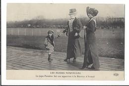 16484 - Les Modes Nouvelles La Jupe-pantalon Fait Son Apparition à La Réunion D'Auteuil Paris - Mode