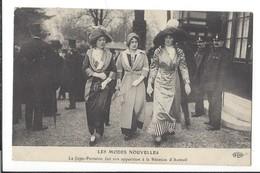 16485 - Les Modes Nouvelles La Jupe-pantalon Fait Son Apparition à La Réunion D'Auteuil Paris - Mode