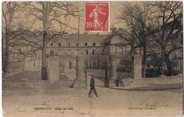 CHAMPLITTE ( 70 ) Hotel De Ville ( Carte Glacée ) - France