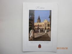 Postcard Krakow Poland Cloth Hall & Town Hall Tower With 1997 Stamp My Ref B2836 - Poland