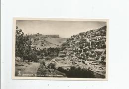 JERUSALEM 555 SILOAM AND THE VALLEY OF KEDRON - Israele