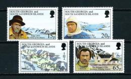 Georgia Del Sur (Falkland)  Nº Yvert  264/7  En Nuevo - Georgias Del Sur (Islas)