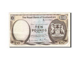 Scotland, 10 Pounds, 1982-1986, KM:343a, 1984-01-04, TTB - [ 3] Scotland