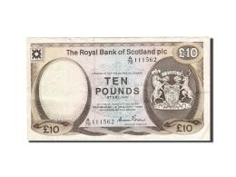 Scotland, 10 Pounds, 1982-1986, KM:343a, 1984-01-04, TTB - [ 3] Escocia