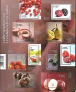 Belg. 2015 - COB N° BL 230 ** -  Les Délicieux Fruits Oubliés (timbres 4539 à 4548) - Belgium
