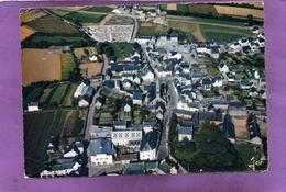 29 PLOMODIERN Le Centre Du Bourg Vue Aérienne Famme Au Dos - Plomodiern