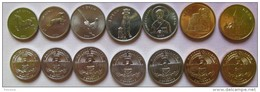 Nagorno-Karabakh Set Of 7 Coins 2004 (2x50 Luma + 3x1 Dram + 2x5 Dram ) UNC
