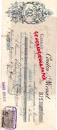 03- GANNAT- TRAITE COUTIN & MENAT- TANNERIE CORROIERIE- GANTERIE MEGISSERIE- 1898 - France