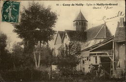 10 - CAMP DE MAILLY - église De Mailly - Mailly-le-Camp