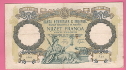 20 Franga 1939 Albania War Currency - Non Classificati