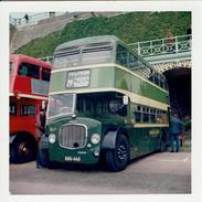 Bus Photo Aldershot & District 357 Dennis Loline East Lancs SOU465 Brighton 1974 - Cars