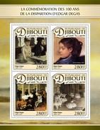 Djibouti - Postfris / MNH - Sheet Edgar Degas 2017 - Djibouti (1977-...)