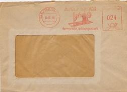 GERMANY - EMA - SAALFELD  1948 - MACCHINA DA CUCIRE - Marca ADOLF KNOCH - Formschon - Tessili