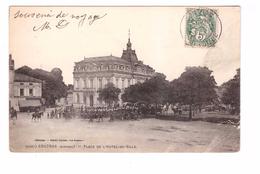 33 Coutras Place De L' Hotel De Ville Défilé Militaire - France