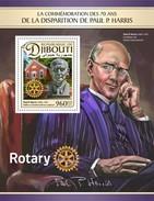 Djibouti - Postfris / MNH - Sheet Paul P. Harris 2017 - Djibouti (1977-...)
