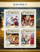 Djibouti - Postfris / MNH - Sheet Paus John Paul II 2017 - Djibouti (1977-...)