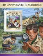 Djibouti - Postfris / MNH - Sheet Scouts 2017 - Djibouti (1977-...)