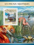 Djibouti - Postfris / MNH - Sheet Watervogels 2017 - Djibouti (1977-...)