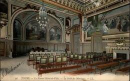 37 - TOURS - Mairie - Salle Des Mariages - Tours
