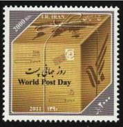 Iran 2011 World Post Day (1v) MNH (M-347)