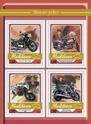 Maldiven / Maldives - Postfris / MNH - Sheet Motoren 2017 - Maldiven (1965-...)