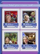 Maldiven / Maldives - Postfris / MNH - Sheet Nobel Prize 2017 - Maldiven (1965-...)