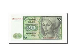 République Fédérale Allemande, 20 Deutsche Mark, 1980, KM:32d, 1980-01-02 - [ 7] 1949-… : RFA - Rép. Féd. D'Allemagne