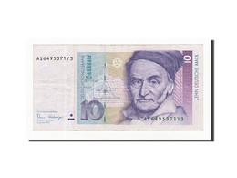 République Fédérale Allemande, 10 Deutsche Mark, 1989, KM:38a, 1989-01-02 - [ 7] 1949-… : FRG - Fed. Rep. Of Germany