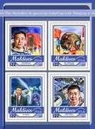 Maldiven / Maldives - Postfris / MNH - Sheet Shenzou-11 2017 - Maldiven (1965-...)